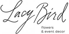 Логотип компании Lacy Bird студия флористики