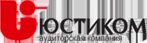Логотип компании Юстиком