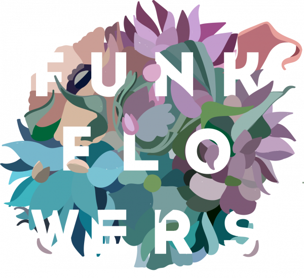Логотип компании Funk Flowers