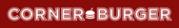 Логотип компании CORNER BURGER