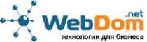 Логотип компании Webdom