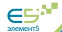 Логотип компании Элемент 5