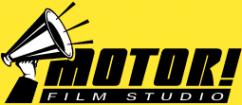 Логотип компании Мотор фильм студия