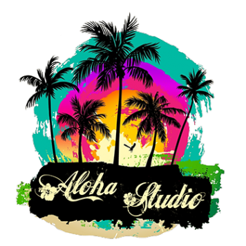 Логотип компании Aloha Studio