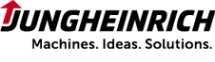 Логотип компании Юнгхайнрих подъемно-погрузочная техника
