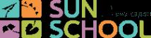 Логотип компании Английский детский сад Sun School Веерная