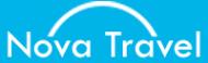 Логотип компании NovaTravel