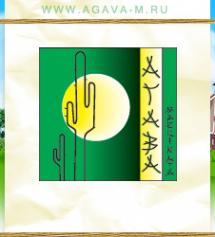 Логотип компании Агава Маргината