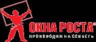 Логотип компании ОКНА РОСТА