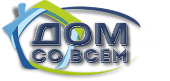 Логотип компании ДОМ СО ВСЕМ