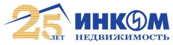 Логотип компании ИНКОМ-Недвижимость