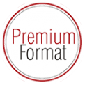 Логотип компании Premium Format