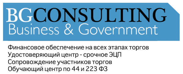 Логотип компании BGConsulting