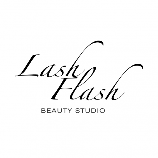 Логотип компании Lash Flash