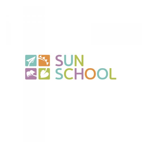 Логотип компании Английский детский сад Sun School Алые Паруса