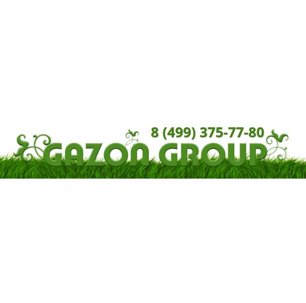 Логотип компании GAZON GROUP