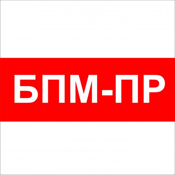 Логотип компании БПМ-ПР