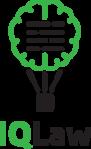 Логотип компании IQLaw - международный юридический сервис