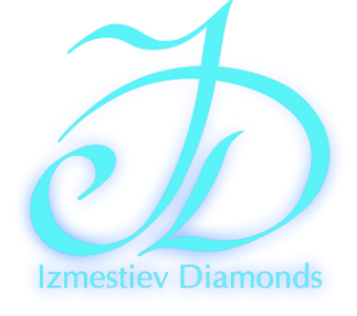 Логотип компании Izmestiev Diamonds