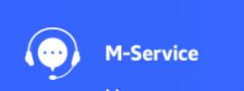 Логотип компании M-Service